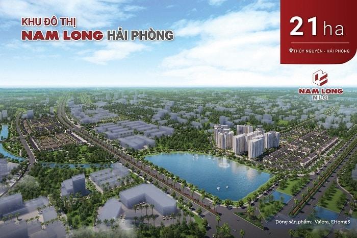 Khu đô thị Nam Long, Thủy Nguyên, Hải Phòng