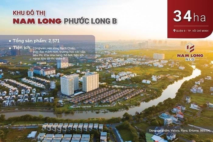 Khu đô thị Nam Long Phước Long B