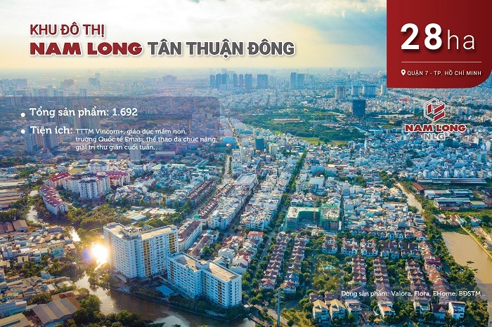 Khu đô thị Nam Long Tân Thuận Đông