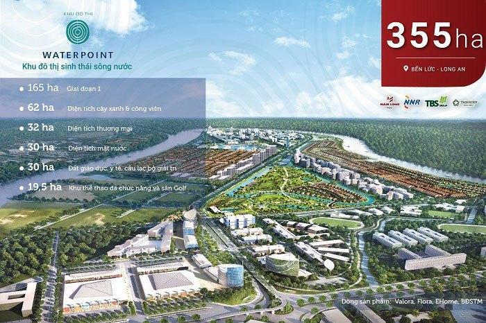 Khu đô thị sinh thái Waterpoint Nam Long