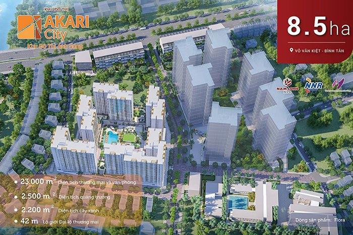 Khu đô thị ánh sáng Akari City Bình Tân.