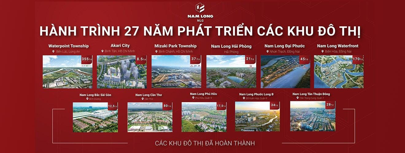Hành Trình 27 Năm Phát Triển Của Nam Long Group