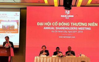 Đại hội cổ đông thường niên của Nam Long Group năm 2019