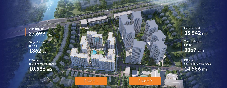 Mặt bằng tổng thể dự án Akari City tại Bình Tân.