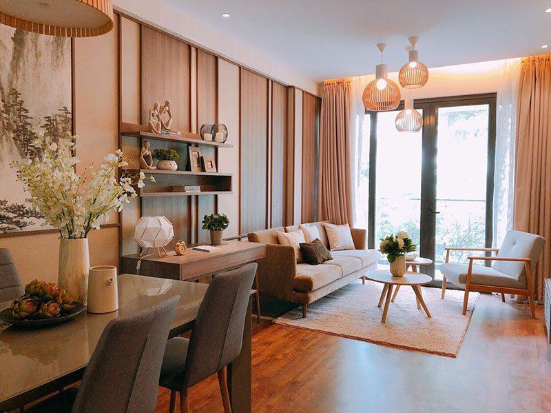 Lối thiết kế phong cách Nhật Bản được áp dụng hầu hết trong các căn hộ của Nam Long.
