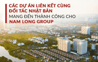 Những dự án Nam Long cùng hợp tác với đối tác Nhật Bản trong 4 năm qua.