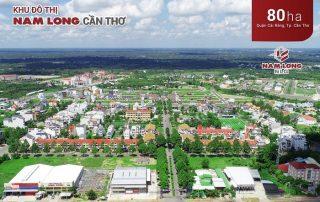 Khu đô thị Nam Long Cần Thơ tại quận Cái Răng TP Cần Thơ.