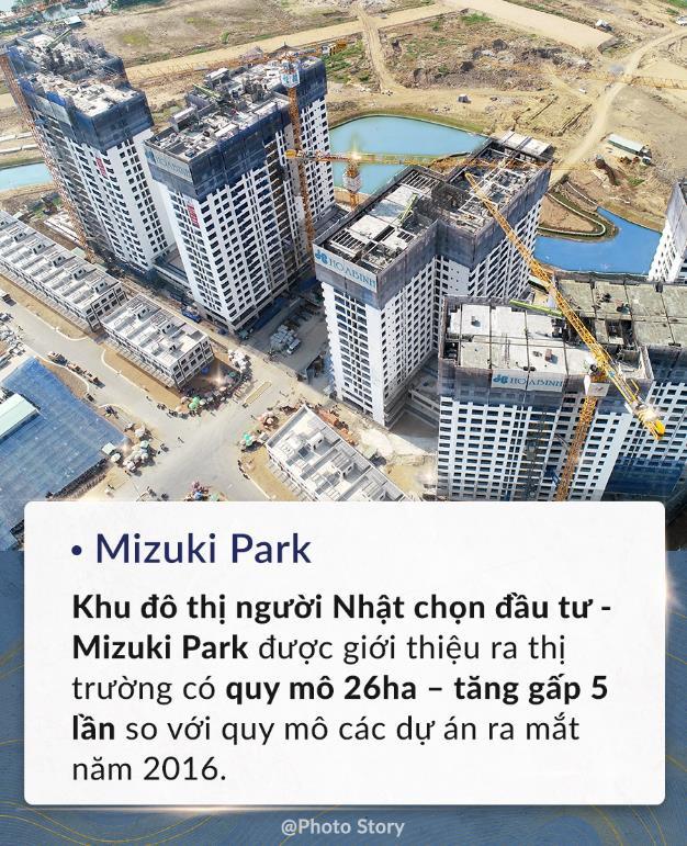 Mizuki Park là khu đô thị được người Nhật chọn đầu tư.