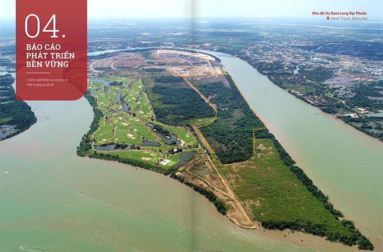 Khu đô thị Nam Long Đại Phước dự kiến sẽ triễn khai vào năm 2020.