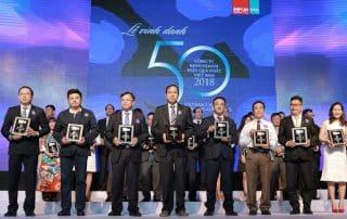 Nam Long Đạt Top 50 Công Ty Kinh Doanh Hiệu Quả Nhất Việt Nam 2018