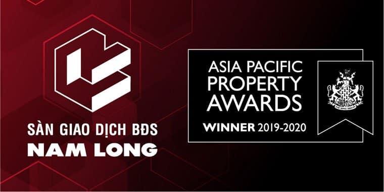 Sàn Nam Long nhận được giải thưởng bất động sản Châu Á Thái Bình Dương