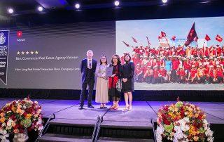 Sàn giao dịch bất động sản Nam Long đoạt giải thưởng Châu Á Thái Bình Dương.