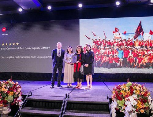 Sàn Nam Long Nhận Giải Thưởng BDS Châu Á Thái Bình Dương