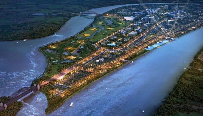 Một dự án của Nam Long Group trên Đảo Đại Phước thuộc Đồng Nai