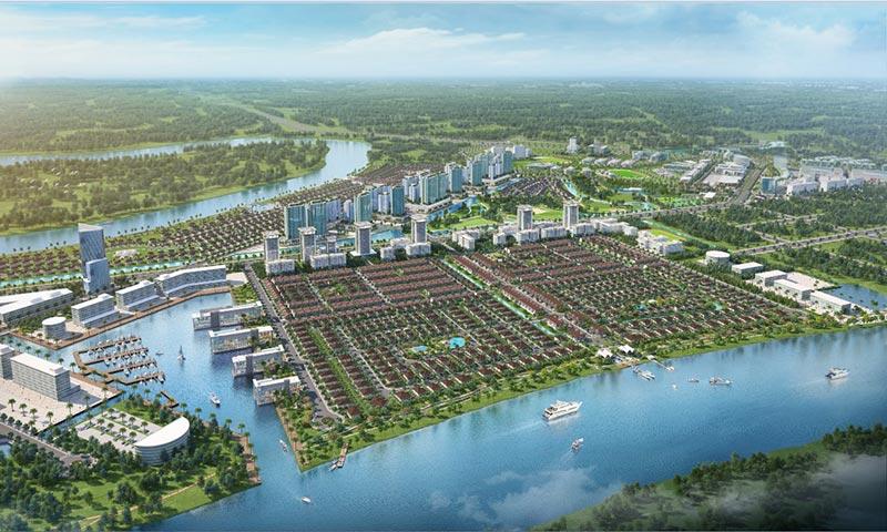 Dòng sản phẩm chủ đạo của Waterpoint giai đoạn 1 là nhà phố, biệt thự Valora sẽ chính thức giới thiệu ra thị trường vào quí 4/2019
