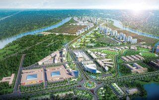Nam Long Group đã công bố dự án Waterpoint quy mô lên đến 355 héc ta tại Bến Lức - Long An