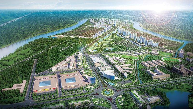 Waterpoint tọa lạc tại khu vực đang phát triển mạnh và thuận tiện giao thông cả đường bộ lẫn đường thủy.