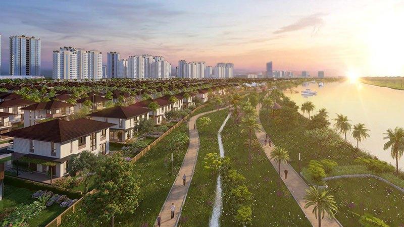 Mật độ dân số Waterpoint quanh ngưỡng 84 người/ha, xấp xỉ với thành phố xanh nhất thế giới Singapore 82 người/ha
