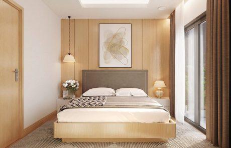 Phòng ngủ lớn nhà phố vườn Waterpoint.