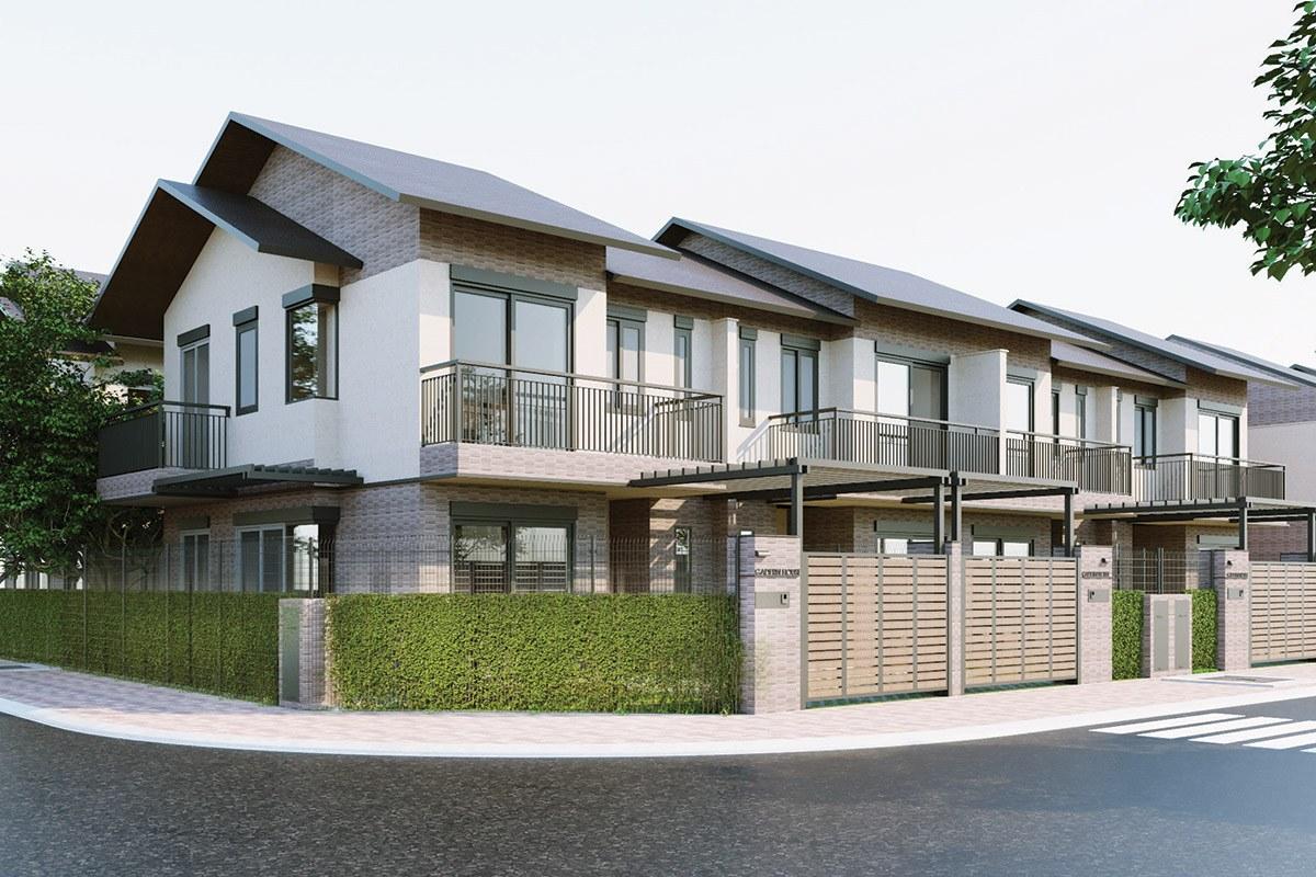Thiết kế mẫu nhà phố Waterpoint Nam Long Group