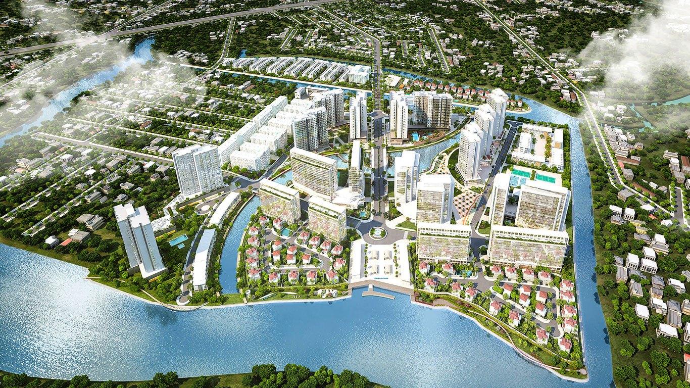 Tổng thể dự án Mizuki Park Nam Long Bình Chánh.