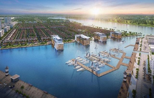 Phân khu Aquaria với điểm nhấn liền kề Vịnh nước ngọt 8,6ha sắp ra mắt thị trường những sản phẩm đẳng cấp nằm trong compound biệt lập.