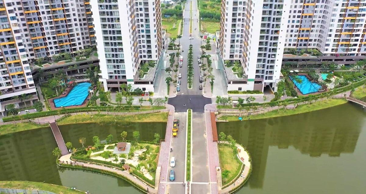 Hệ thống công viên kênh đào, tiện ích vườn Nhật được đầu tư tại khu đô thị Mizuki Park