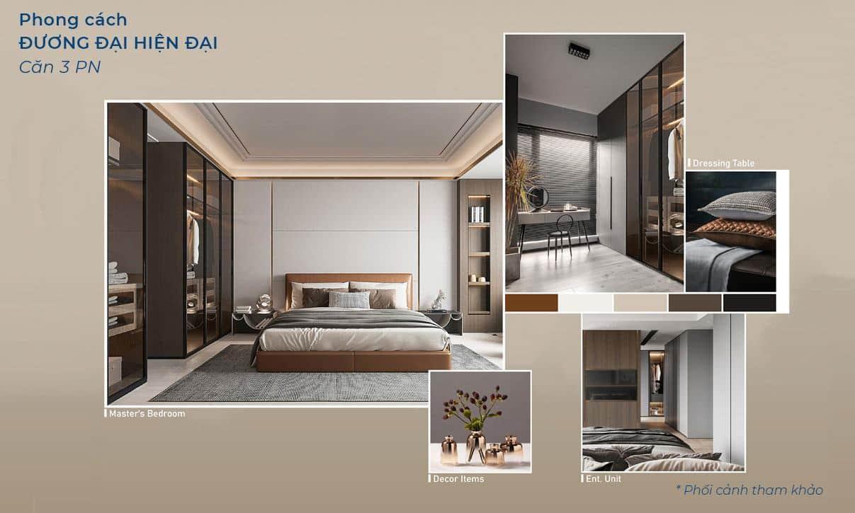 Mẫu căn hộ 3 phòng ngủ MP9 MP10.